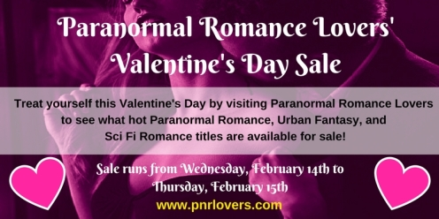Paranormal Romance Lovers'Valentine's Day Sale